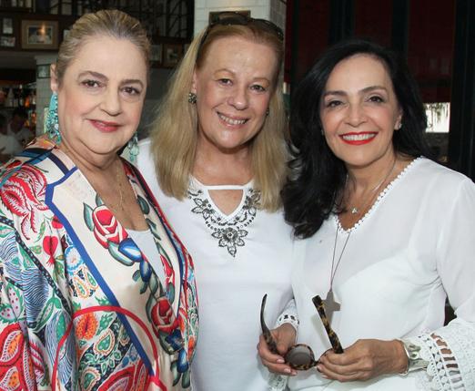 Cristina Aboim, Sueli Lobo Lima e Liliana Rodriguez