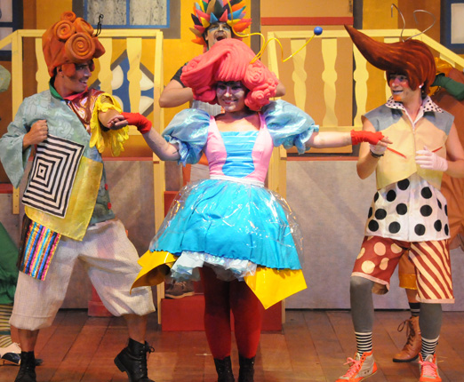 Dona Baratinha, o musical