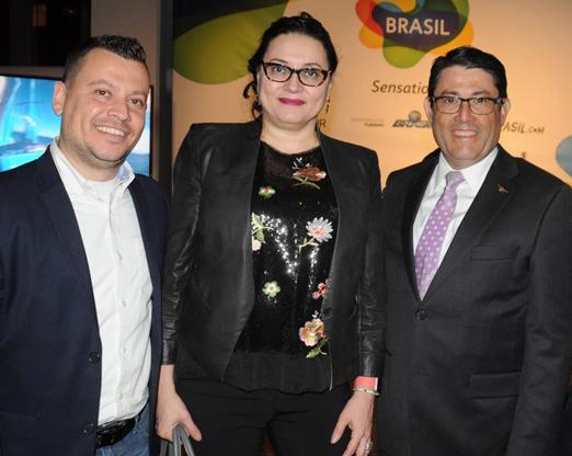 Emerson Camilo, Regina Frasseto e Luiz Teixeira