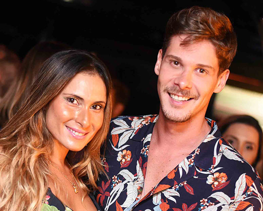 Erica Fonseca e Phil Gomes