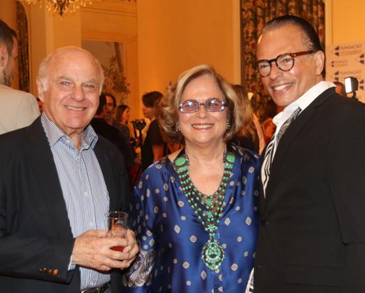 Francis Bogossian, Hildegard Angel e Heckel Verri