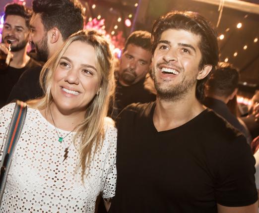 Ju Barbeiro e João Marcos Calfat