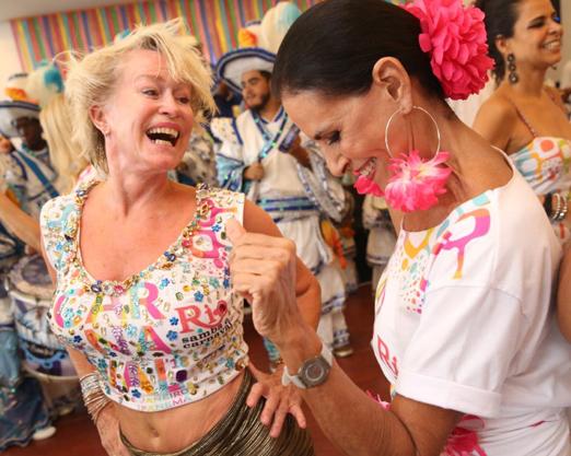 Jytte e Beth Pinto Guimarães