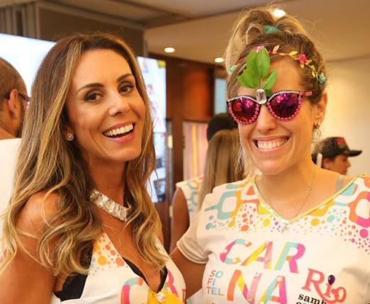 Karina Nunes e Bruna Barros