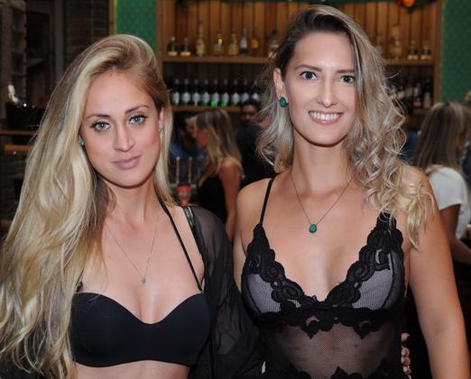 Kate Guerini e Stephanie Caroline Rodrigues