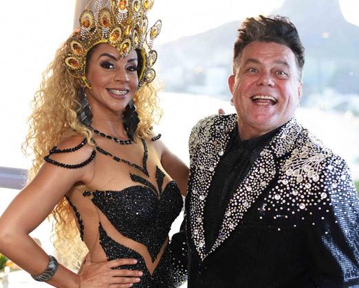 Larissa Neto e Milton Cunha