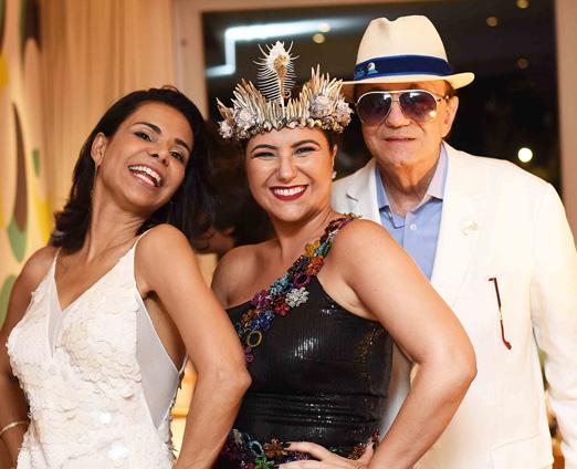 Lene DeVictor, Maria Rita e Mauricio Mattos
