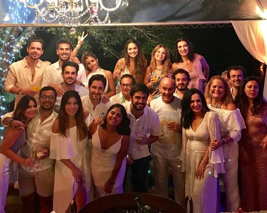 Liliana, Nestor e amigos