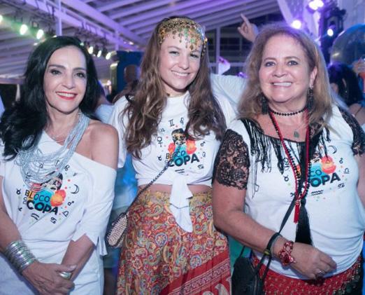 Liliana Rodriguez, Ana Leticia Pedras e Renata Fraga