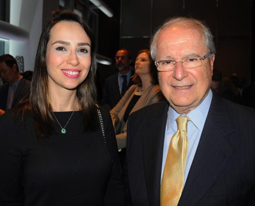 Luciana Lobo e Sergio Amaral, Embaixador do Brasil nos EUA
