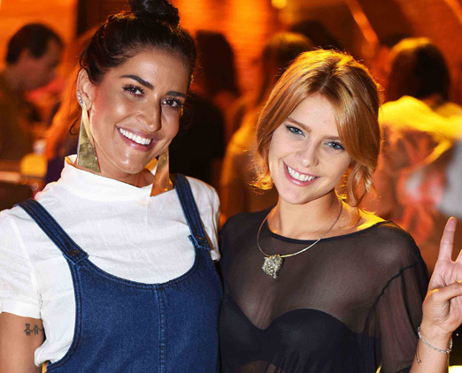 Maria Joana e Isabella Santoni