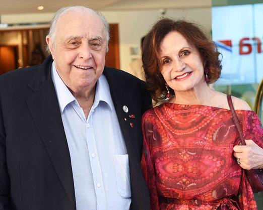 Mauro Mendonça e Rosamaria Murtinho