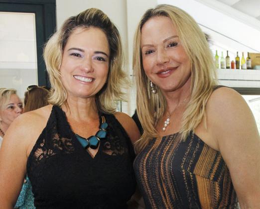 Nilza Supriano e Geusa Muguet