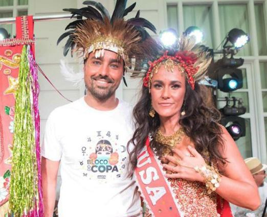 O casal Ricardo e Francisca Pereira