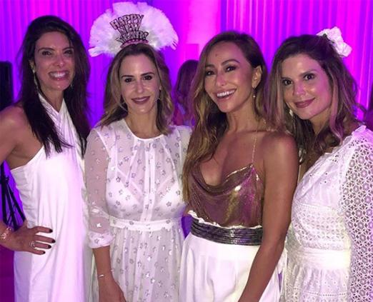 Patricia Brandão, Guilhermina Guinle, Sabrina Sato e Mariana Kupfer