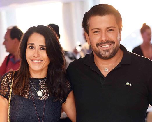Paula Severiano Ribeiro e André Ramos