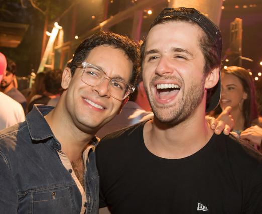 Rainer Cadete e Gil Coelho