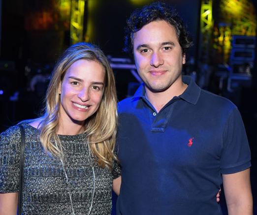 Renata Barcellos e Raphael Vidigal