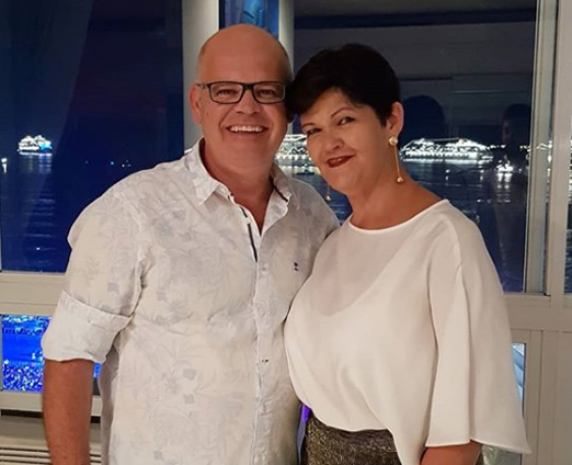 Ricardo Pires e Margareth Rocha