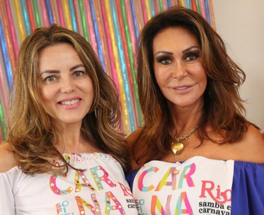 Shirley Maia e Beth Andrade