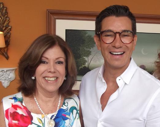 Sylvia de Castro e Marcelo Hicho