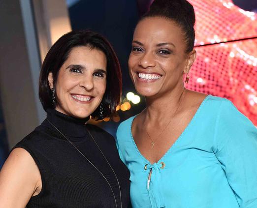 Vanessa Riche e Flavia Oliveira