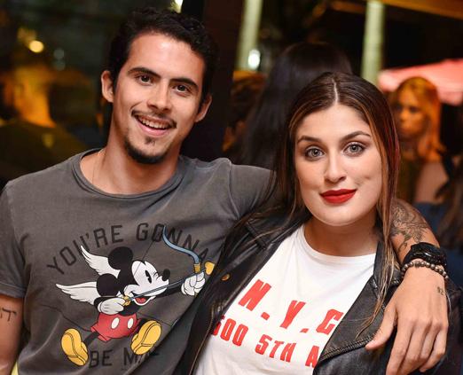 Vinicius Carvalho e Thais Damasco