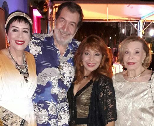 Yacy Nunes, Jesus Chediak, Miramar Mangabbeira e Ilka Bambirra