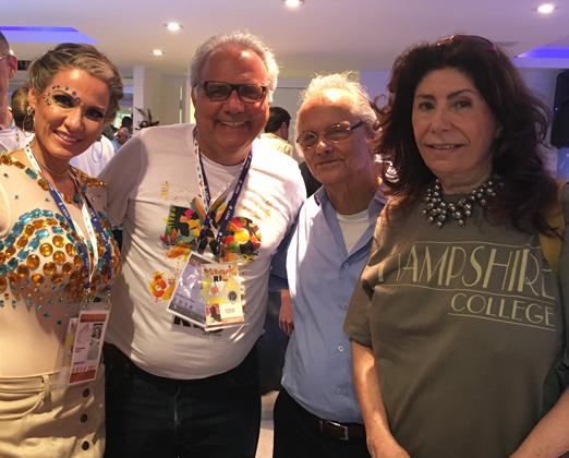 Adriana Alves, Franklin Toscano, Fernando Mac Dowell e Anna Maria Tornaghi