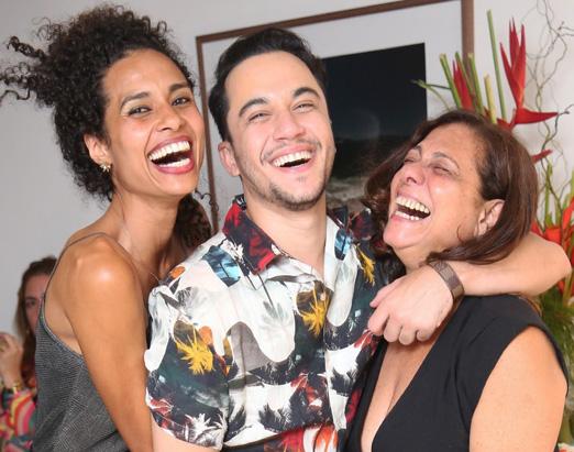 Aisha Jambo, Vinicius Belo e Catarina Abdalla