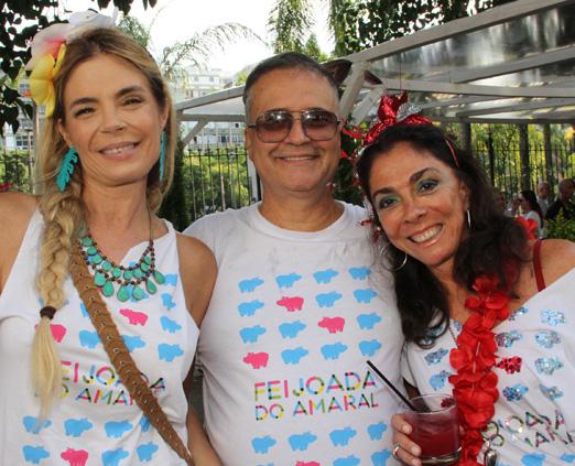 Alexia Dechamps, Zé Ronaldo Muller e Ana Luiza Rego