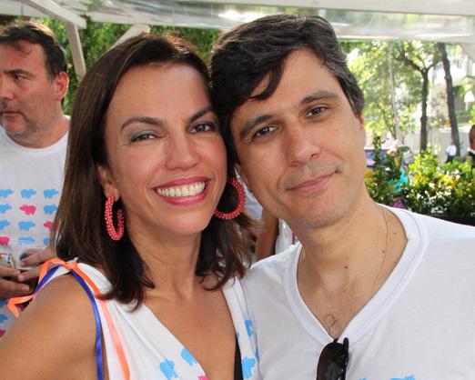 Ana Paula Araújo e Bernardo Amaral