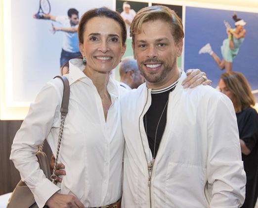 Andrea Natal e Bruno Chateaubriand