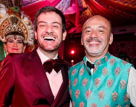 Bruno Astuto e Christian Louboutin