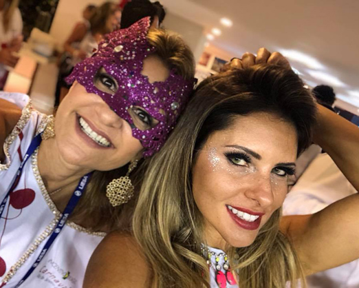 Camarote Incentivo Brasil - Adriana Indelli e Vivian Vargas