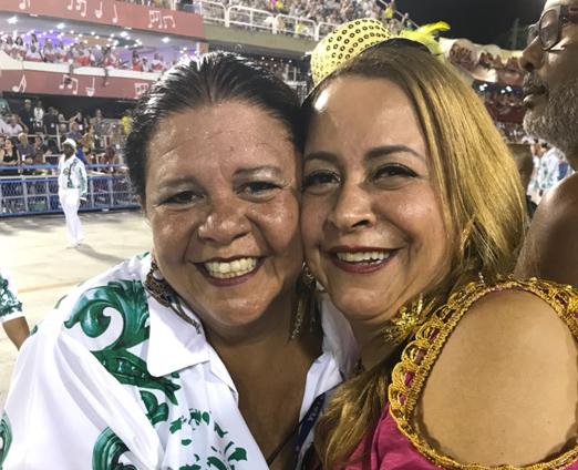 Camarote do King - Laura Carneiro e Candida Virginia Ribeiro