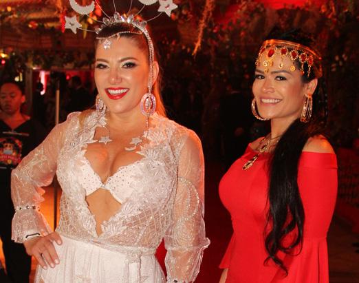 Carla Morgana e Rosa Leal
