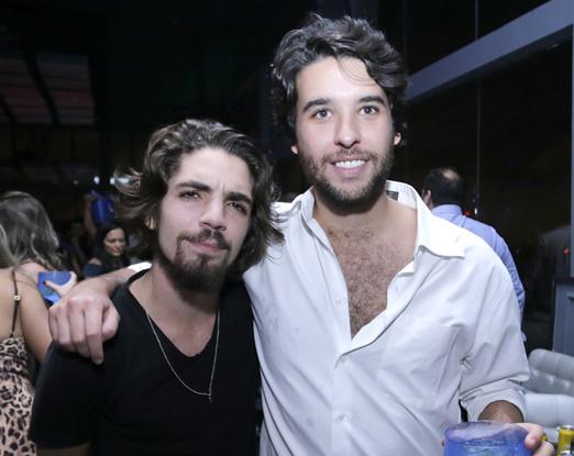 Daniel Tourinho e Gustavo Costa
