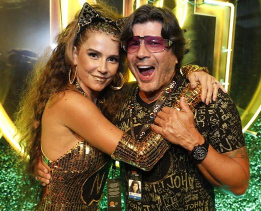 Deborah Secco e Paulo Ricardo
