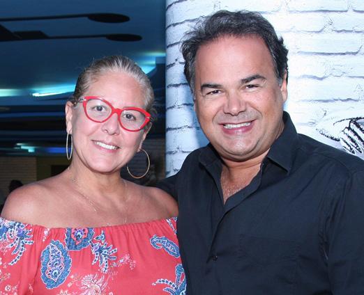 Denise Brenlha e Vinicius Roseira