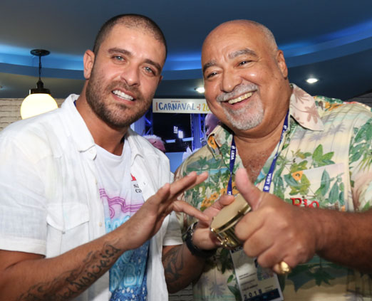 Diogo Nogueira e Carlos Sampaio