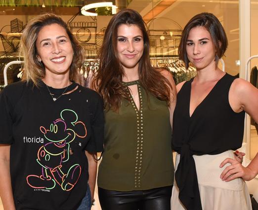 Erica Matusita, Lara D'Avila e Roberta Ferraretto