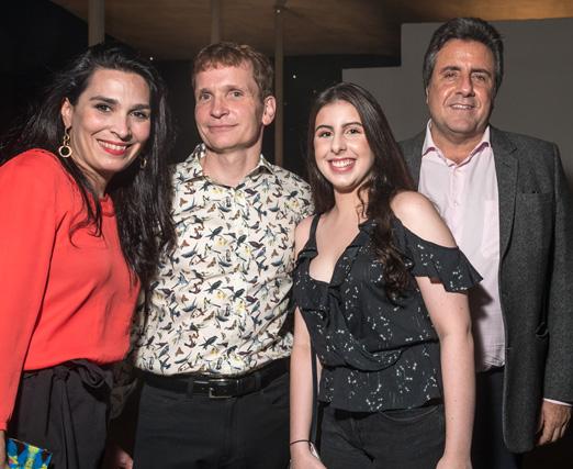 Fabiana Amorim, Jean-Paul Guihaumé, Nathalia Ramos e Gilberto Ramos