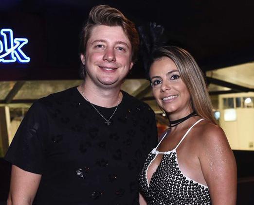Fernando Peixe e Juliana Falcão