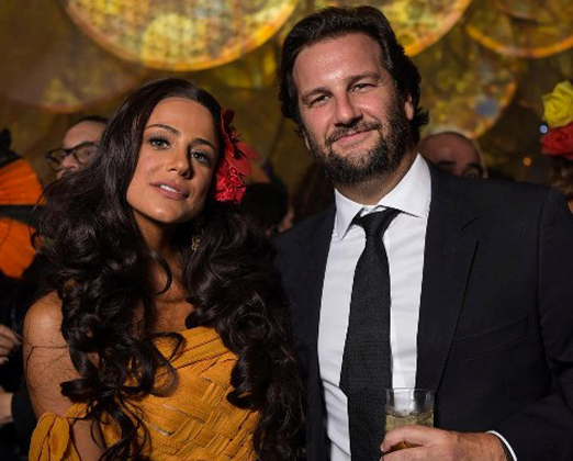 Gisela Sabback e Rodolfo Trussardi