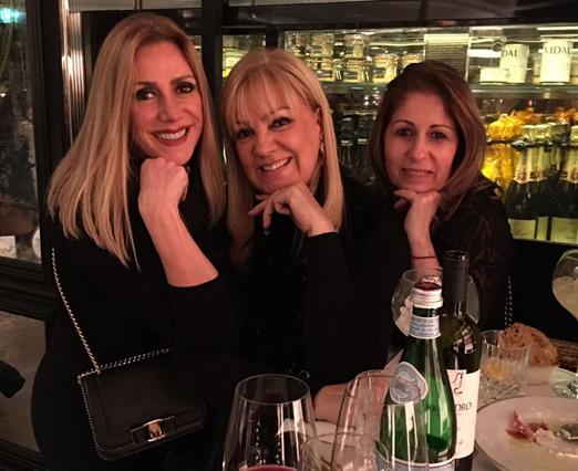 Isabela Francisco, Alda Soares e Cristina Lips