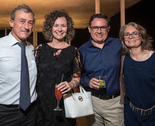 Jean Marc Lucenet, Bianca Spinelli, Jean Francois Laborie e Monique Laborie