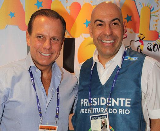 João Doria e Marcelo Alves