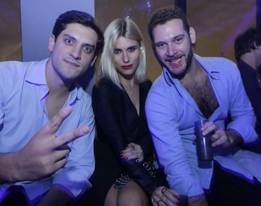 João Pimenta Camargo, Anna Stevanato e Luis Felipe Bordon
