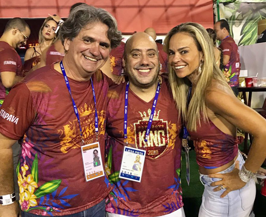 Luiz Rajão, Joãozinho King e Carol Rajão